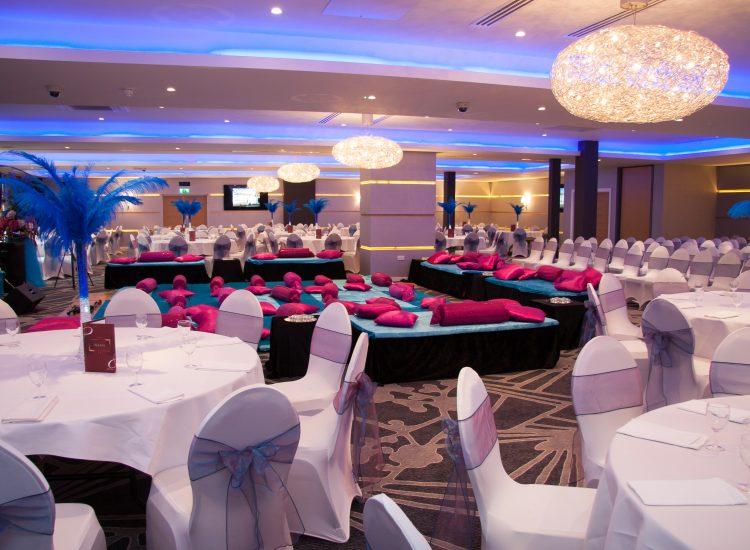 Weddings - Pink Decor - IBIS Forum Venue Stevenage