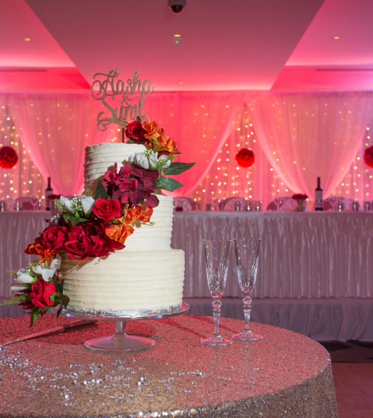 Weddings - Red Lighting - IBIS Forum Venue Stevenage