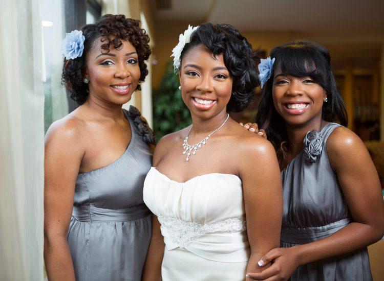 Weddings - Bride with Bridesmaids - IBIS Forum Venue Stevenage